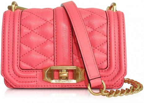 Кожаная сумка Rebecca Minkoff mini love crossbody